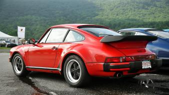 Forests cars porsche 930 turbo classic car wallpaper