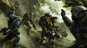 Halo reach cover game wallpaper