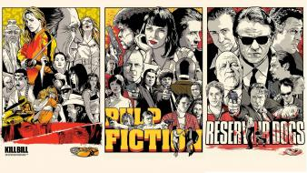Kill bill pulp fiction quentin tarantino reservoir dogs Wallpaper