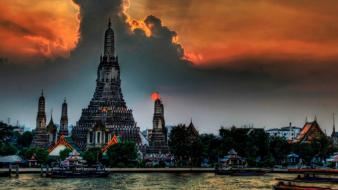 Landscapes cityscapes bangkok wallpaper