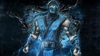 Mortal kombat artwork warriors subzero mk9 hapkido Wallpaper