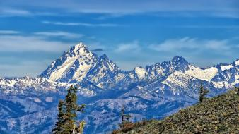 Mountains landscapes nature washington mount stuart wallpaper