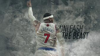 Nba carmelo anthony basketball player knicks wallpaper