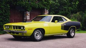 Plymouth barracuda cars Wallpaper