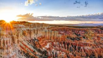 Rocks canyon usa utah bryce national park wallpaper