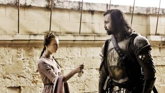 Sansa stark shows sandor clegane the hound wallpaper
