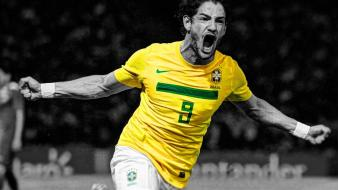 Soccer brazil hdr photography alessandro pato wallpaper