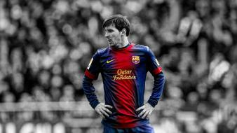Soccer lionel messi hdr photography fc barcelona wallpaper