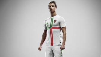 Soccer men portugal cristiano ronaldo football stars player wallpaper