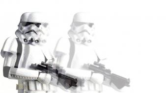 Star wars stormtroopers white background wallpaper
