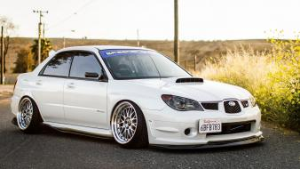 Subaru impreza wrx sti cars tuning wallpaper