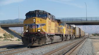 Trains locomotives 2006 union pacific wallpaper