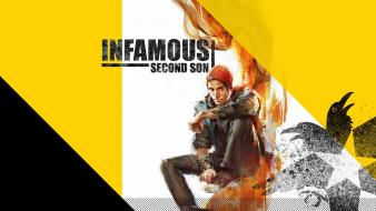 Video games infamous second son wallpaper
