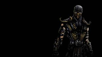 Video games mortal kombat scorpions wallpaper