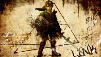 Video games the legend of zelda game Wallpaper