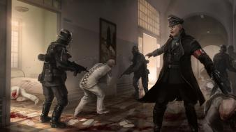 Video games wolfenstein nazis order wolfenstein: the new wallpaper