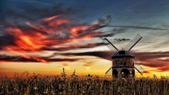 Wind mills wallpaper