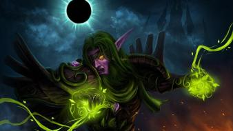 World of warcraft night elf wallpaper