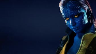 Yellow eyes mystique jennifer lawrence x-men: first class wallpaper
