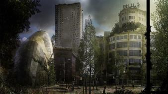 Abandoned city philips roy korpel eindhoven Wallpaper