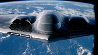 Aircraft bomber earth stealth b-2 spirit wallpaper