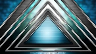 Artistic colors digital art forms geometry wallpaper