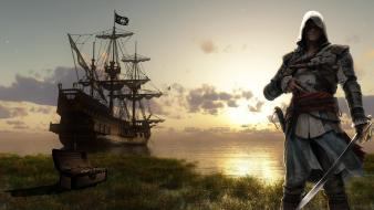 Assassins creed black flag edward kenway assassin wallpaper