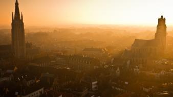 Belgium bruges national geographic cityscapes nature wallpaper