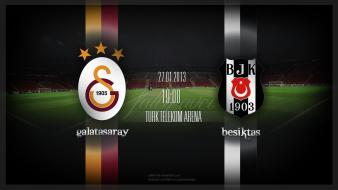Besiktas galatasaray football teams soccer sports wallpaper