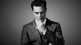 Black and white men monochrome actors michael shannon wallpaper