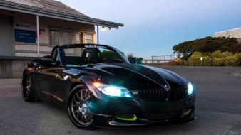 Bmw z4 black cars vehicles Wallpaper