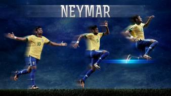 Brazil soccer fc barcelona neymar jr football players Wallpaper