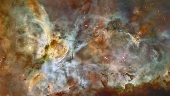 Carina nebula artwork nebulae outer space Wallpaper