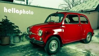 Cars fiat vintage hellaphoto car 600 wallpaper