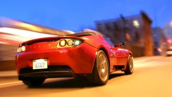 Cars tesla roadster wallpaper