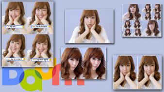Celebrity asians korean singers tiffany hwang bangs wallpaper