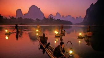 China fishing wallpaper