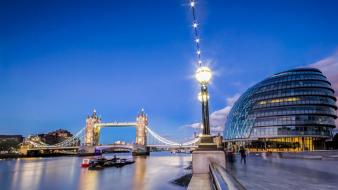 Cityscapes england architecture london bridges wallpaper
