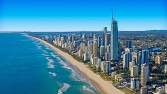 Cityscapes gold coast wallpaper