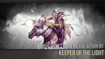Dota 2 keeper of the light wallpaper