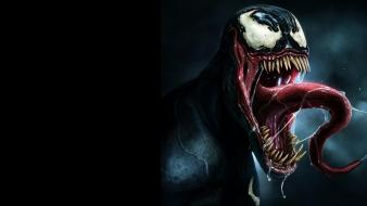 Eddie brock marvel comics spider-man symbiote venom wallpaper