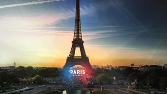 Eiffel tower paris view wallpaper