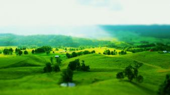 Green landscape pictures Wallpaper