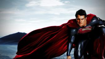 Henry cavill man of steel (movie) superman wallpaper