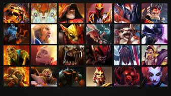 Heroes dota 2 left Wallpaper