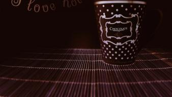 Hot chocolate love wallpaper