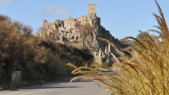 Italia italy architecture craco landscapes wallpaper