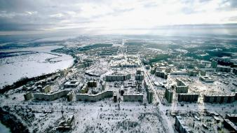 Landscapes pripyat chernobyl ukraine Wallpaper
