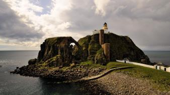 Lighthouses scotland sea wallpaper