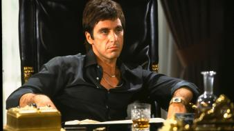 Movies scarface al pacino tony montana Wallpaper